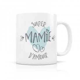 Mug super mamie d'amour