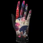 VISUEL gants microfibre  FLEURI