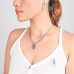 FITTONIA Collier Lapis Lazuli 3