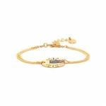 Danna Bracelet double chaîne 1