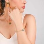 Danna Bracelet double chaîne 3