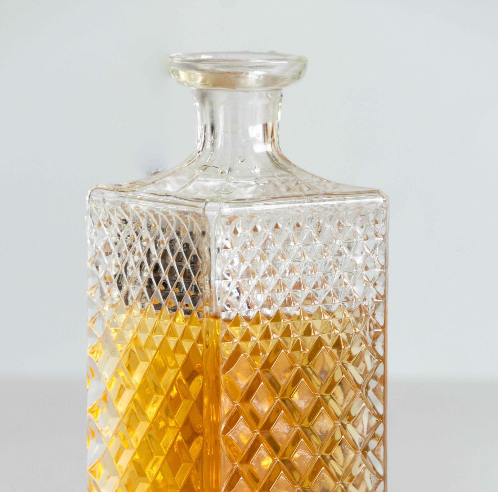 Carafe style whisky en cristal