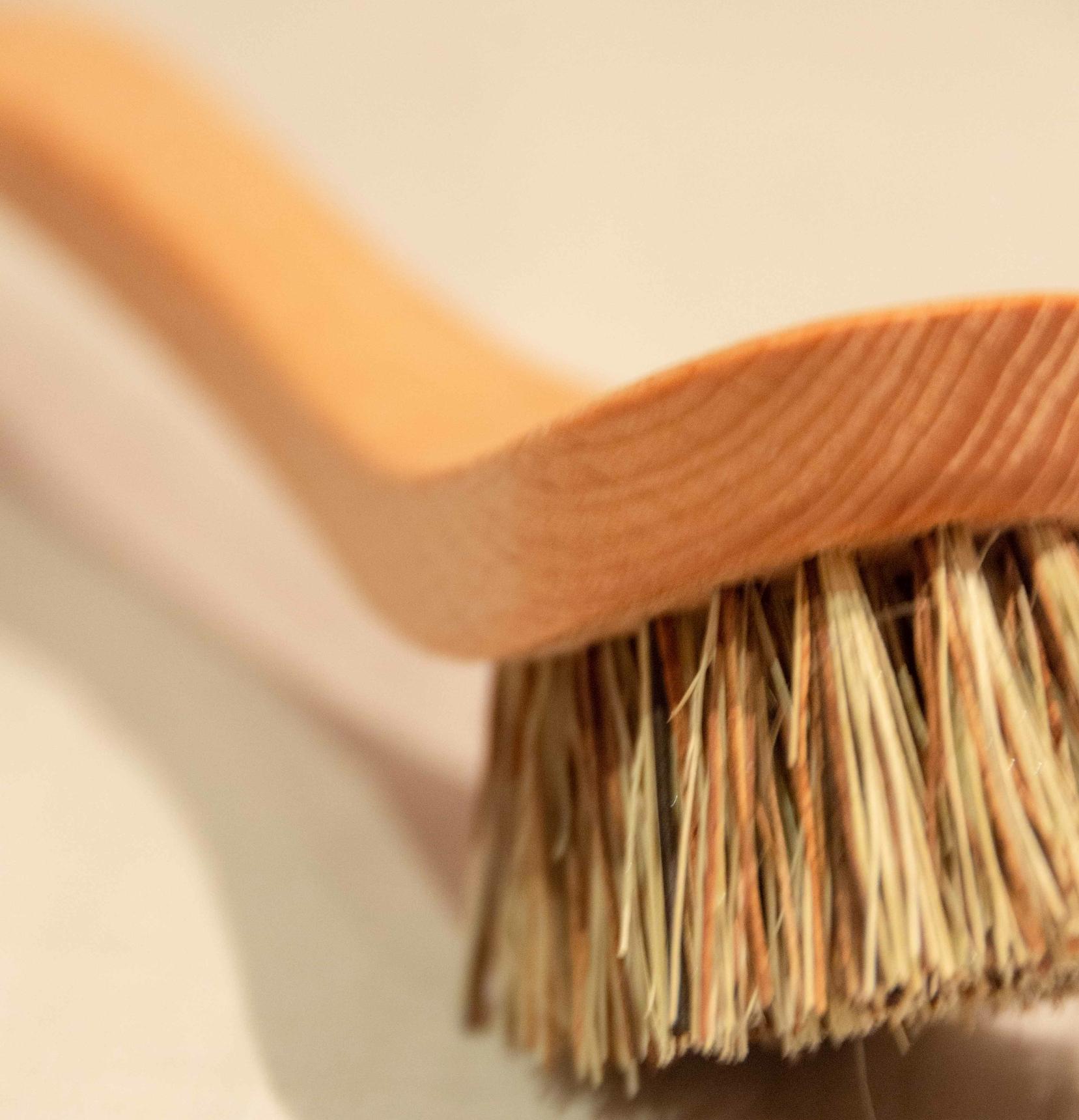 Brosse à vaisselle en fibres dures