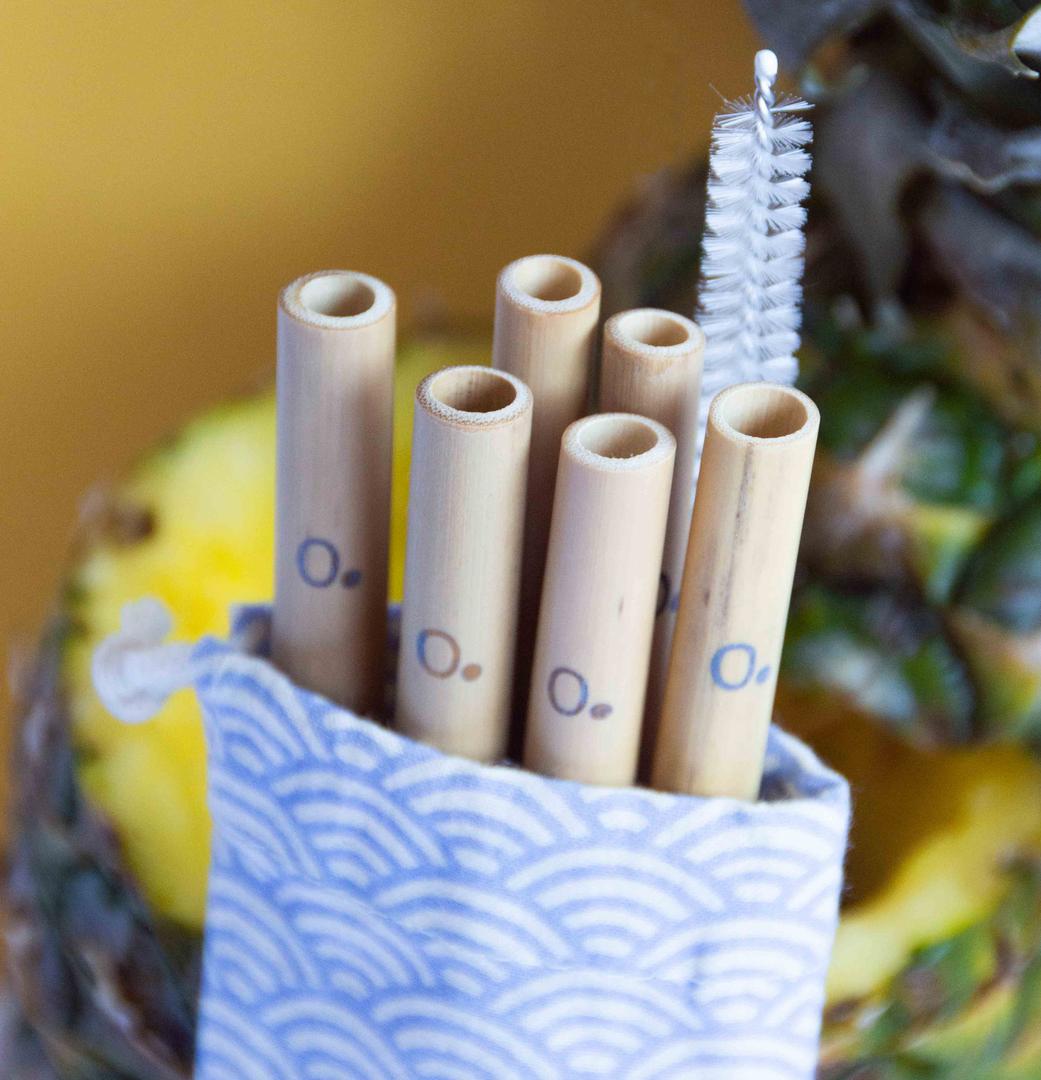ZERO - Paille en bambou biodégradable