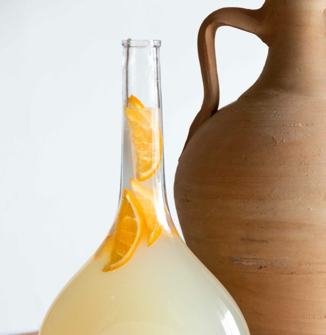 élégance de la bouteille en verre - collection zero
