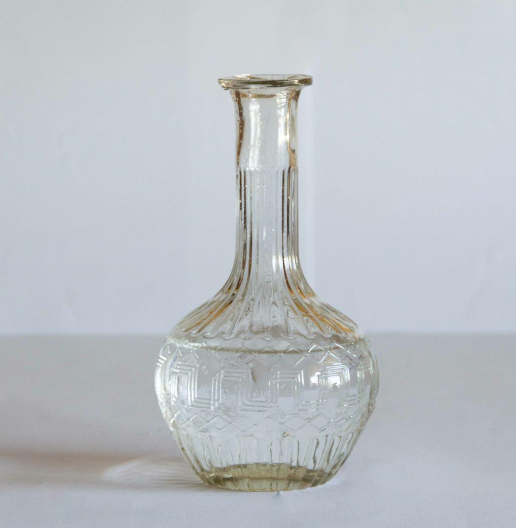 carafe en verre vintage Zero