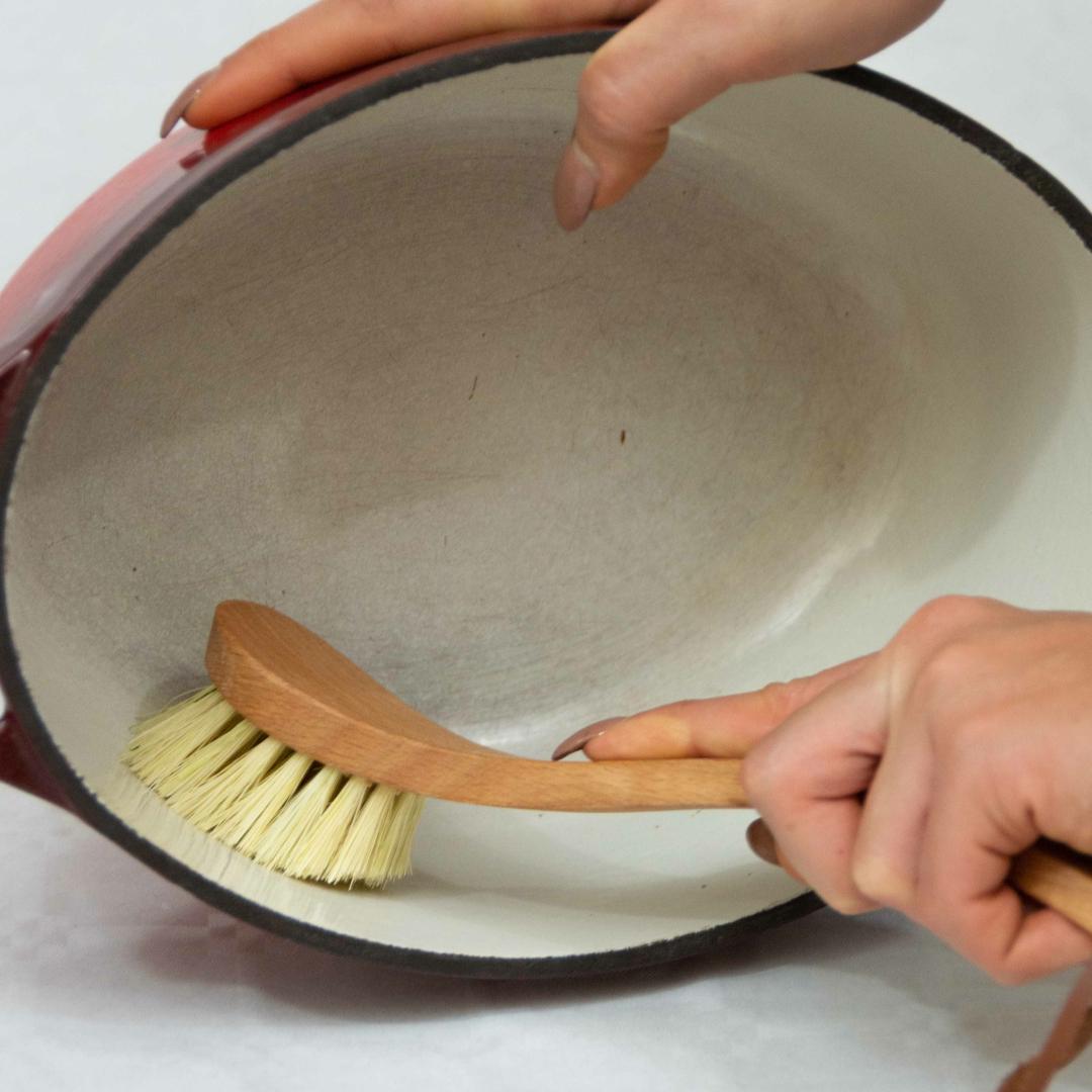 Brosse à vaisselle en fibres végétales Collection Zero