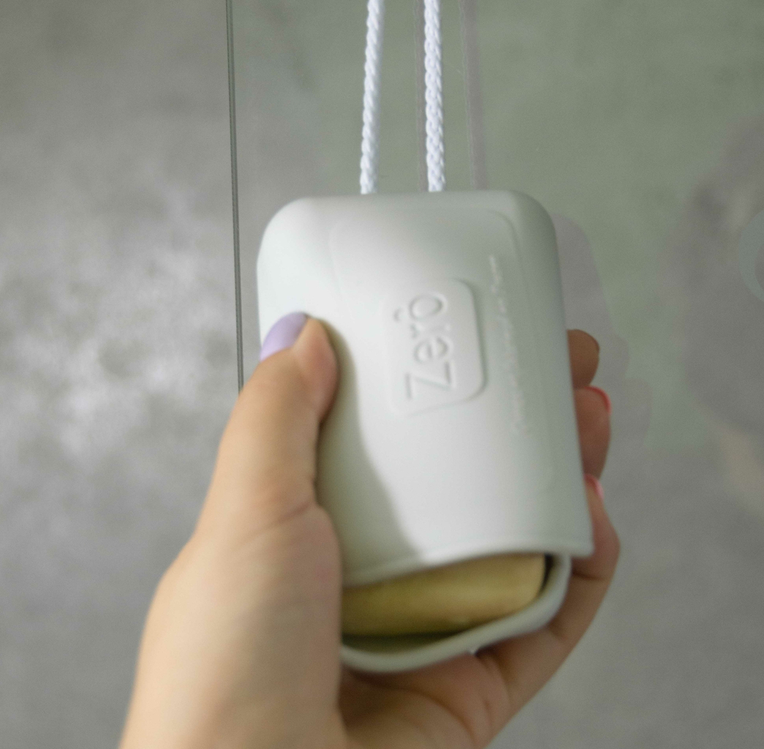 Porte savon ultra pratique Zero