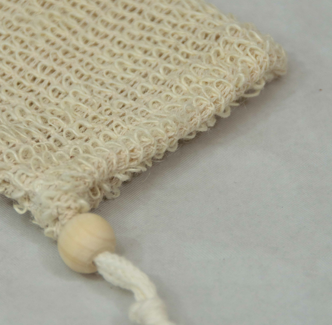 sac à savon en sial et coton Zero
