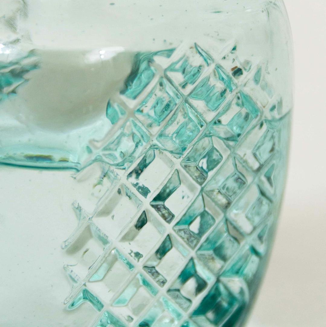 détail de la carafe en verre ZERO