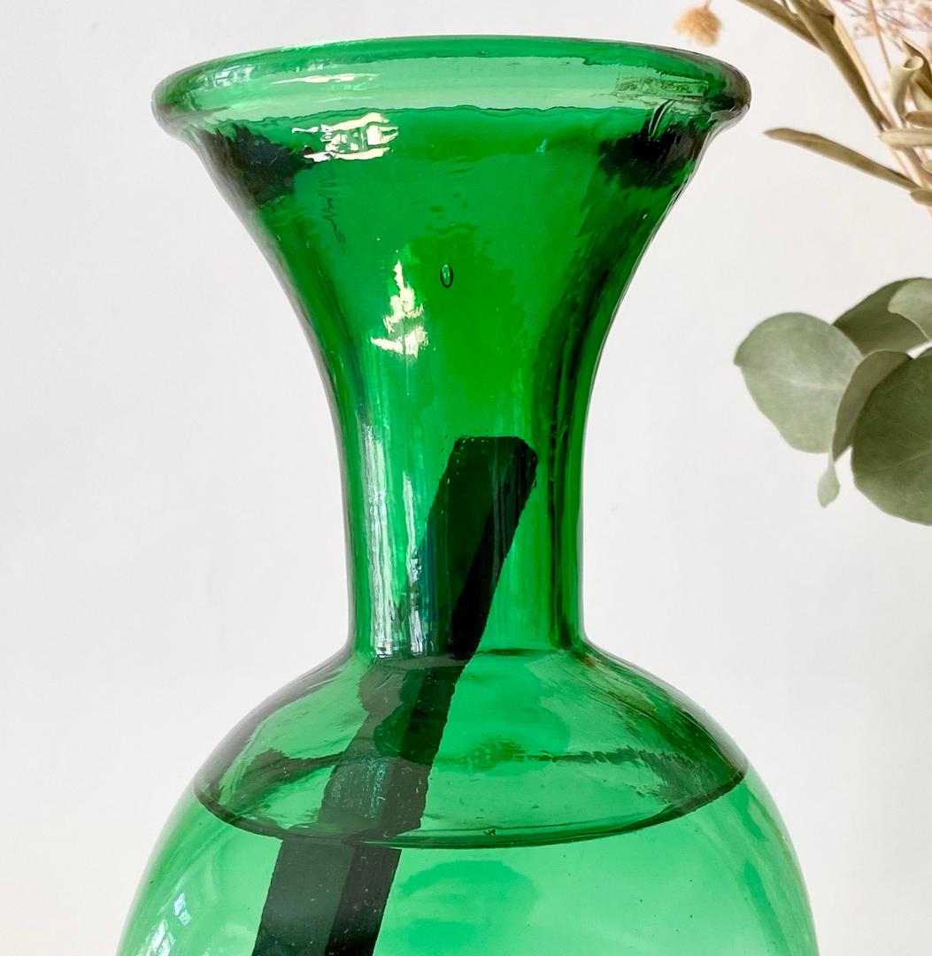 carafe en verre colorée ZERO