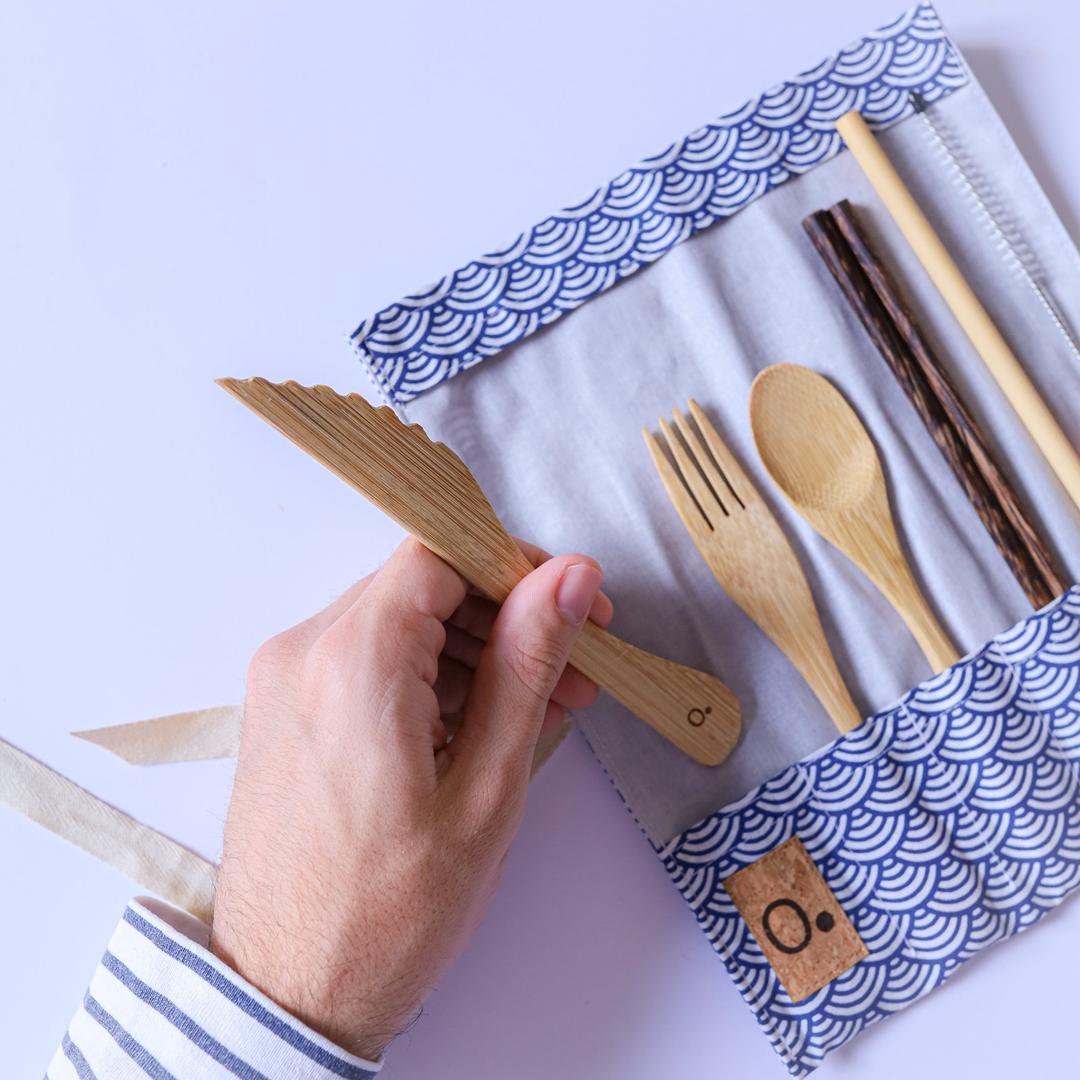 Kit de couverts en bambou - ZERO