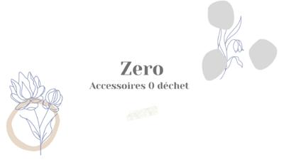 Sélection d'accessoires 0 déchet