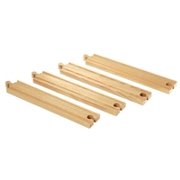 RAILS DROITS LONGS - 216 MM