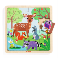 PUZZLE PUZZLO FOREST