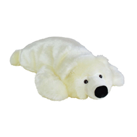 OURS POLAIRE PELUCHE COUSSIN 50CM