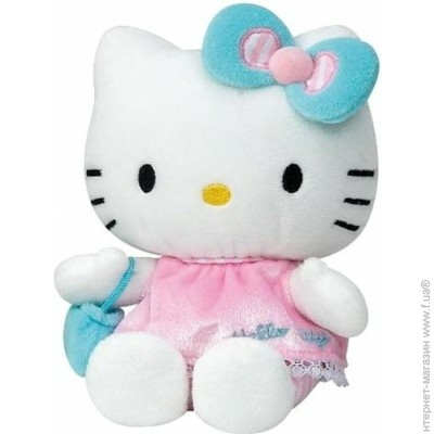 HELLO KITTY 15 CM ROSE