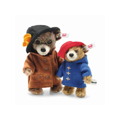 PELUCHE COLLECTION STEIFF TANTE LUCY ET PADDINGTON