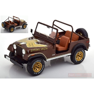 JEEP CJ-7 EAGLE 1980 MARRON