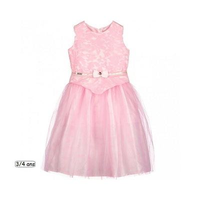 ROBE LA BELLE AU BOIS DORMANT ROSE 5/6 ANS DISNEY BOUTIQUE
