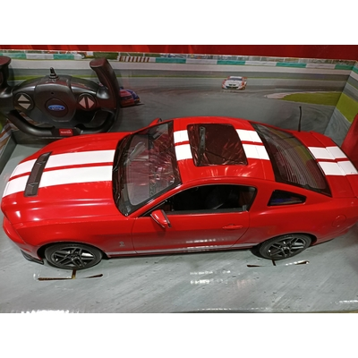 FORD SHELBY GT500 1/14 VOITURE RADIOCOMMANDEE ROUGE