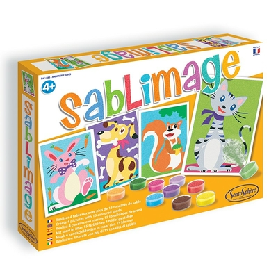 SABLIMAGE ANIMAUX CALINS