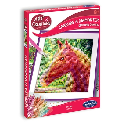 CANEVAS A DIAMANTER CHEVAL