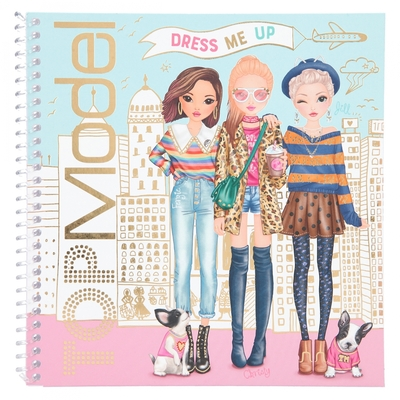 TOPMODEL DRESS ME UP ALBUM AUTOCOLLANTS