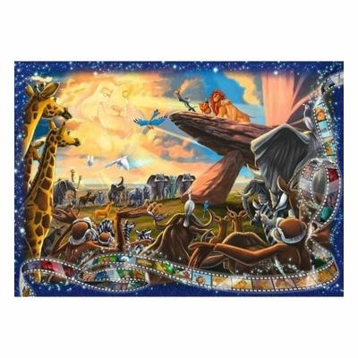 PUZZLE LE ROI LION 1000 PIECES  EDITION COLLECTOR