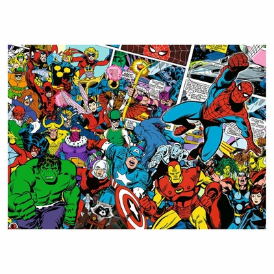 PUZZLE MARVEL 1000 PIECES  CHALLENGE