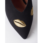 CHARONE-LIPSTICK-escarpin-velours-noir-fil-or-collection-AW1920-Kmassalia-1-1