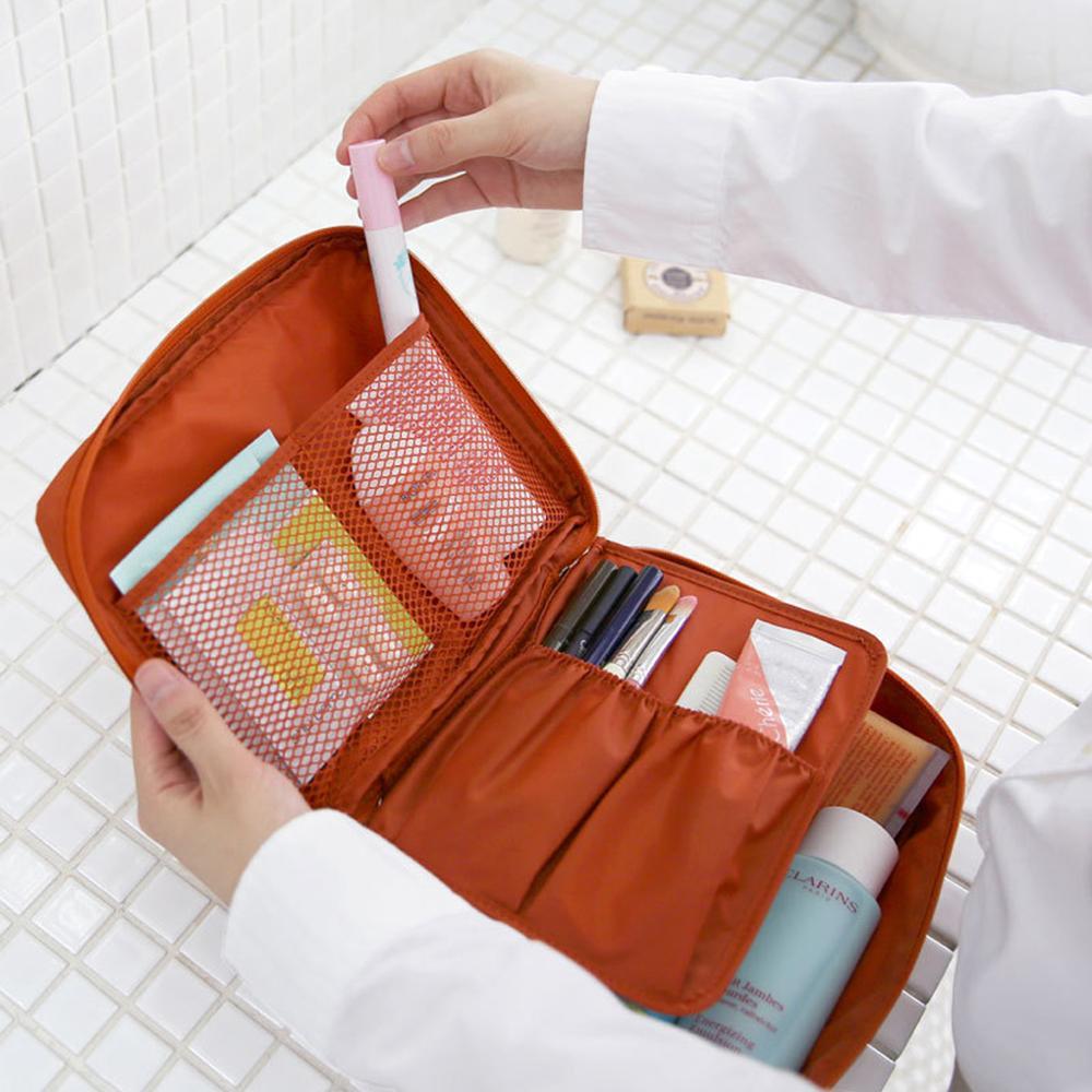 Trousse de toilette de maquillage cosmétique de voyage - Rangements voyage - rangerpascher