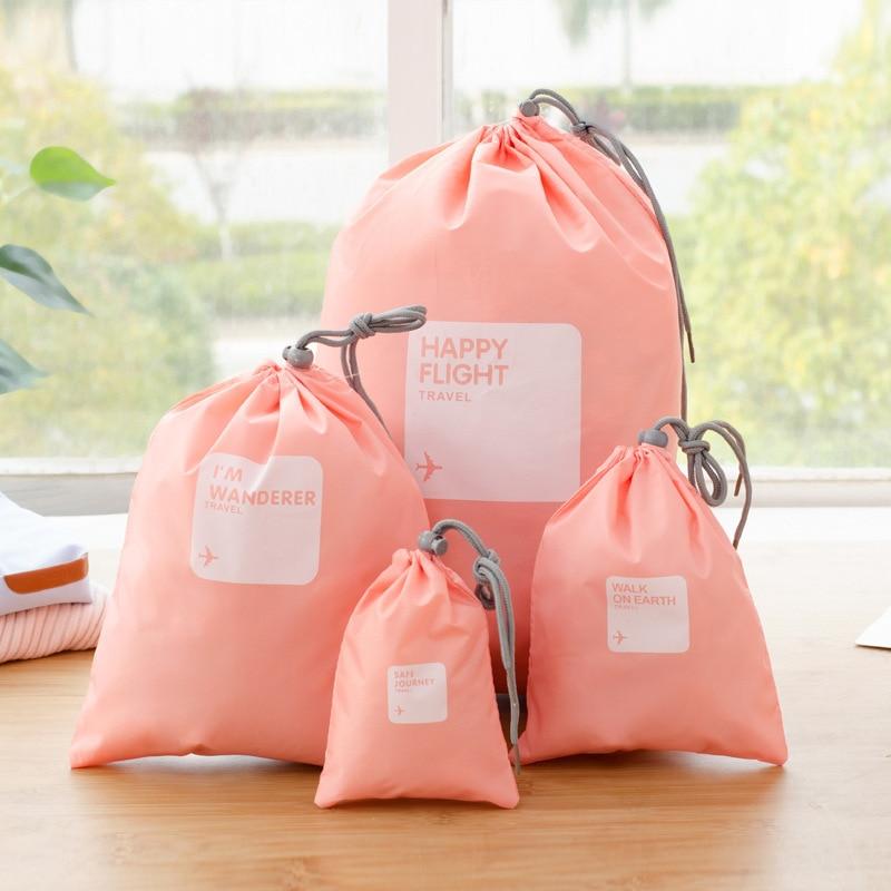 Hot 4 pcs/lot imperméable à l\'eau de voyage sacs de rangement