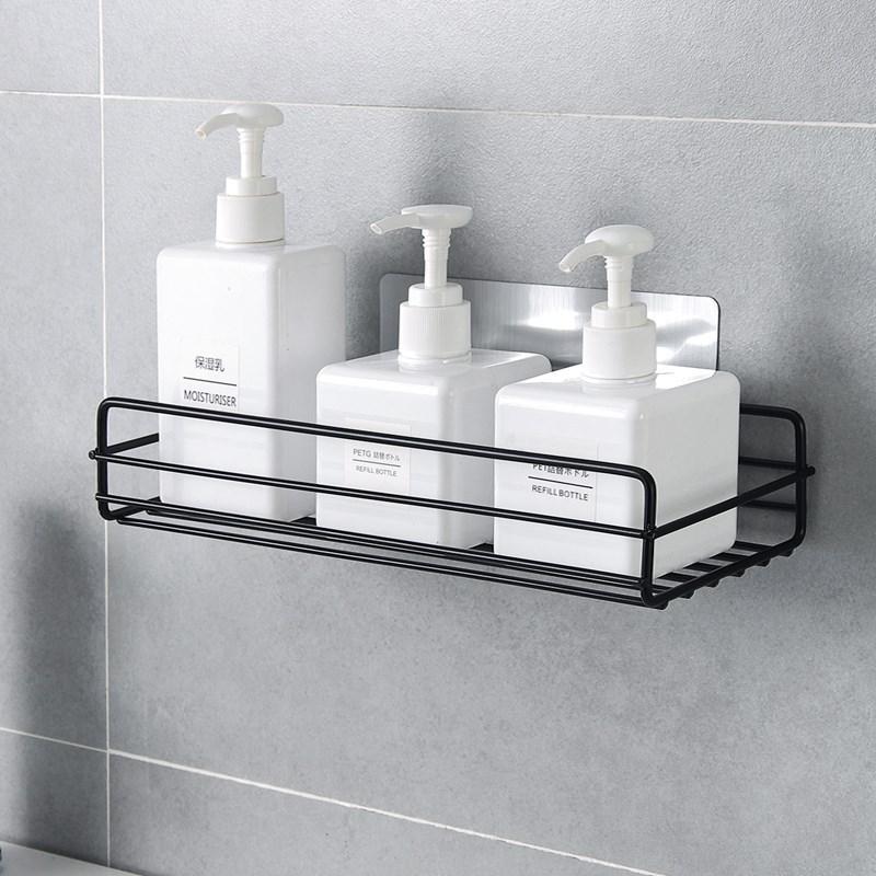 Étagère de salle de bain en fer forgé de style japonais