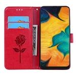 tui-pour-Samsung-en-cuir-avec-imprim-rose-fleur-Galaxy-S8-S9-Plus-S7-S6