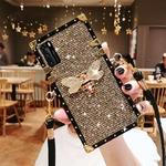 Coque-de-t-l-phone-portable-brillant-avec-lani-re-bling-tui-pour-Samsung-Note-20