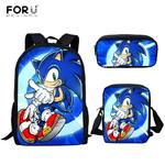 FORUDESIGNS-offres-sp-ciales-sacs-d-cole-dessin-anim-Sonic-le-h-risson-impression-3D-gar