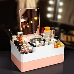 organisateur-maquillage-avec-miroir
