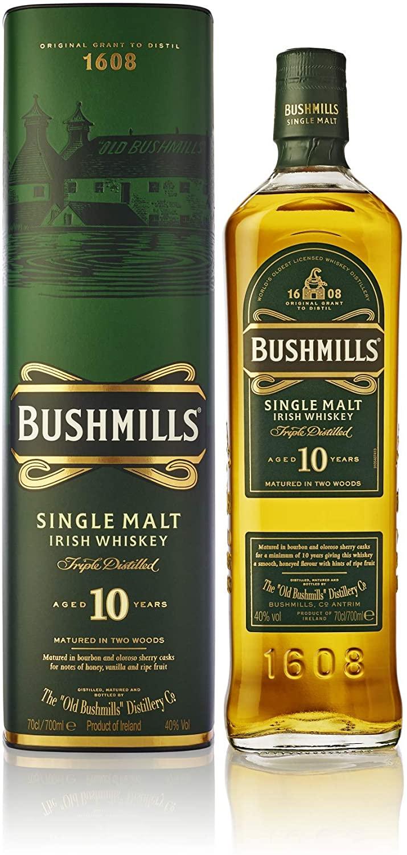BUSHMILLS, 10 ANS