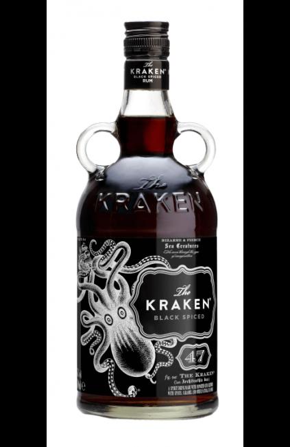 KRAKEN, Black Spiced Rum 47%, Exclusivité Caviste