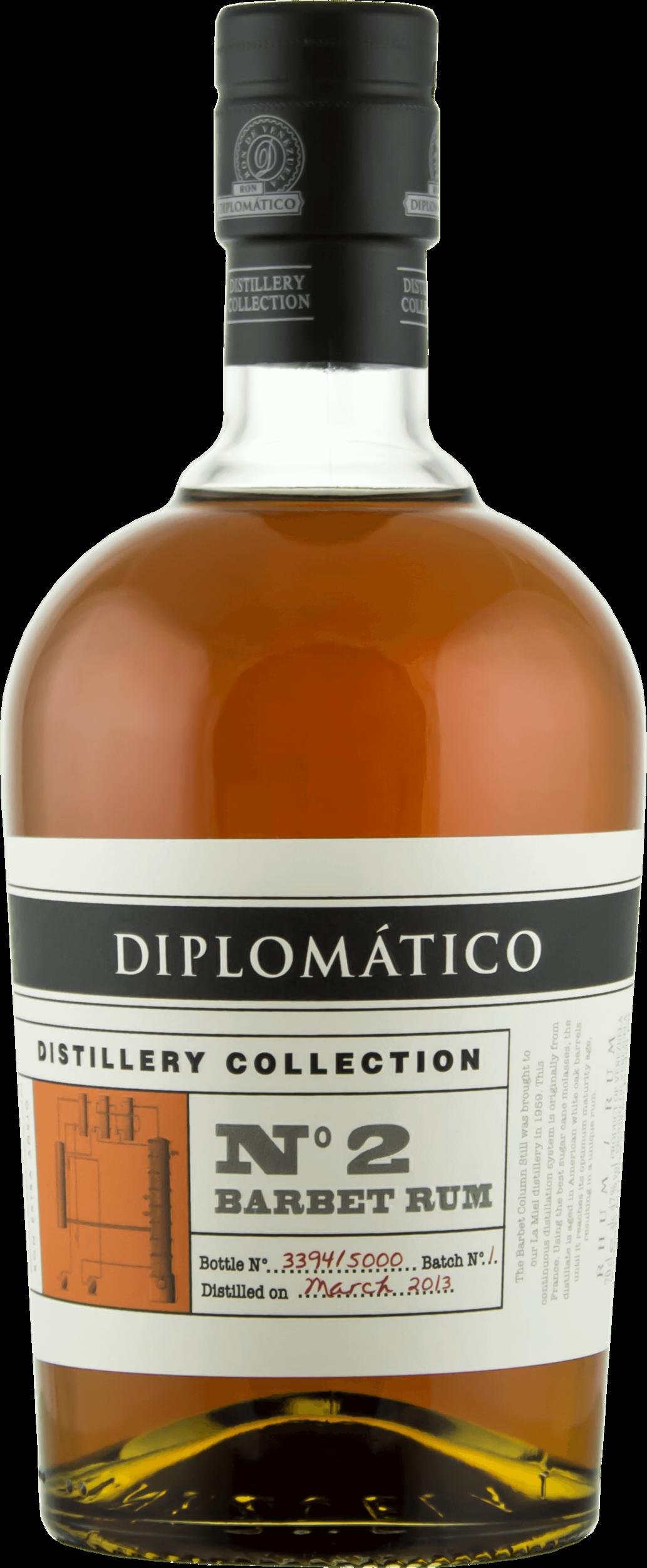 DIPLOMÁTICO, Distillery Collection N°2 Barbet Column