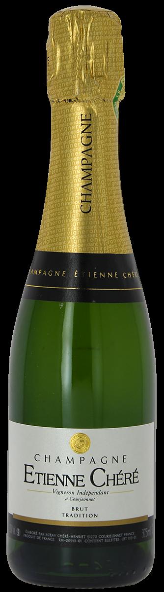 CHAMPAGNE, Étienne Chéré, Brut Tradition - demi-bouteille