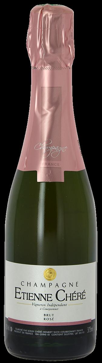 CHAMPAGNE, Étienne Chéré, Brut Rosé, demi-bouteille