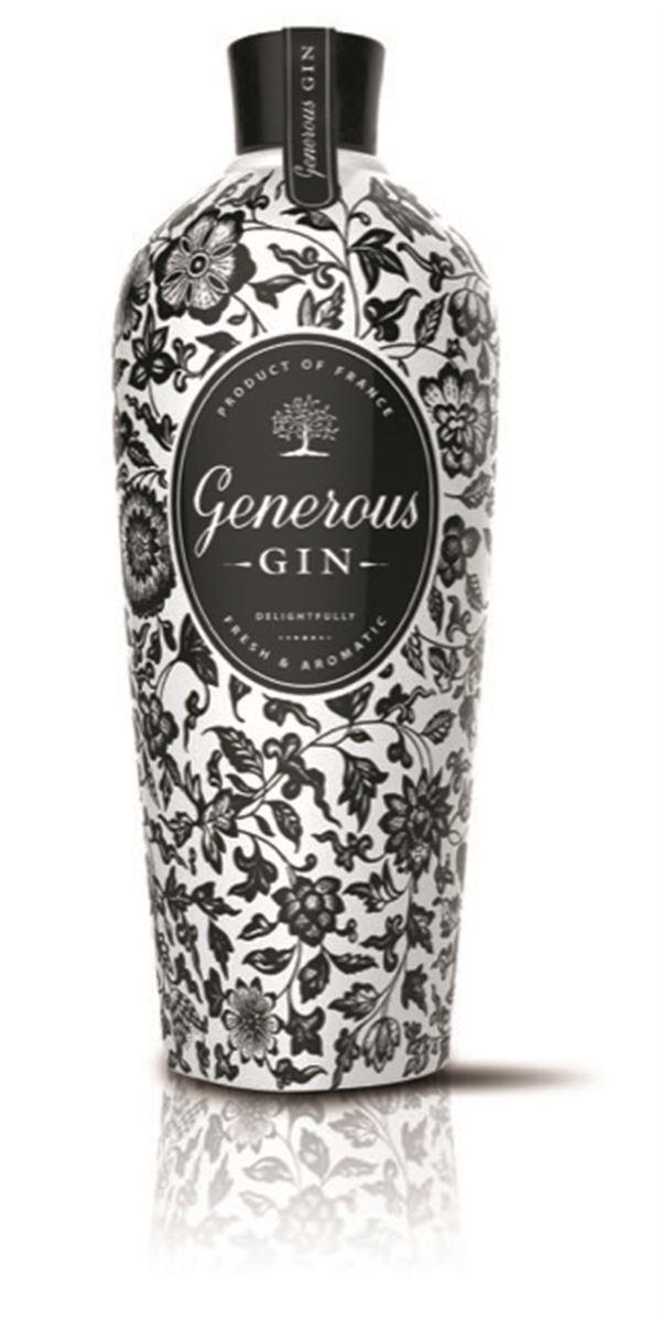 GENEROUS GIN, Original, Frais et Aromatique