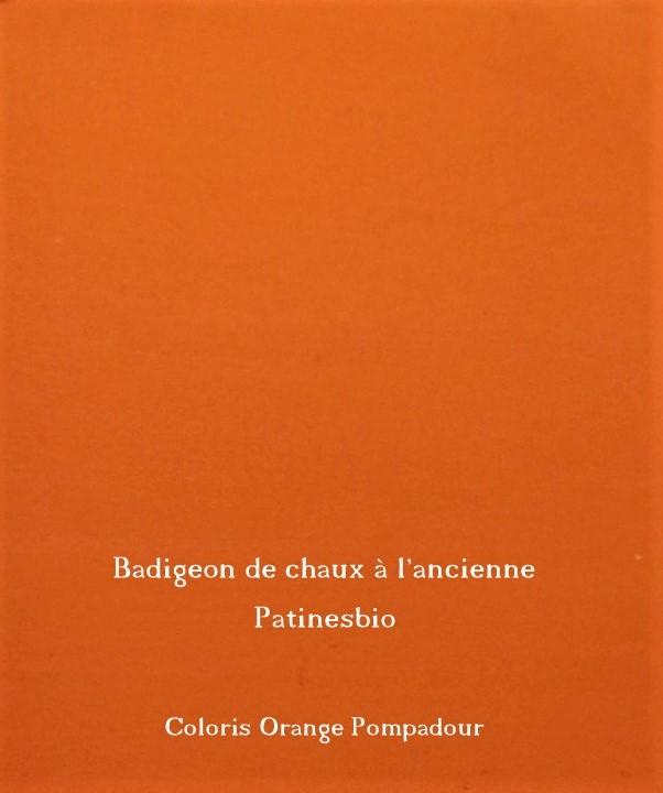 badigeon  Orange Pompadour rendu