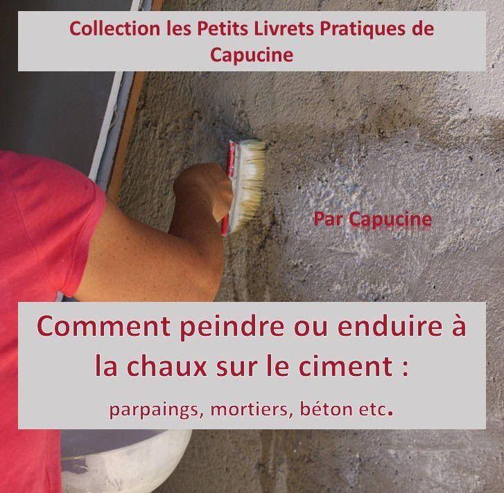 Comment peindre ou enduire à la chaux sur le ciment