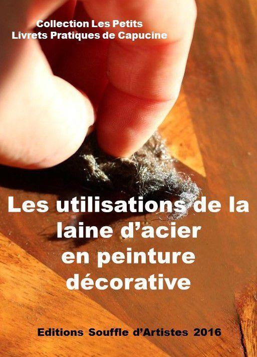 les-utilisations-de-la-laine-d-acier-en peinture décorative