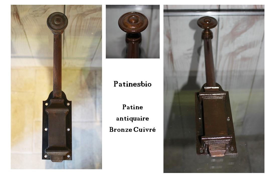patine antiquaire Bronze Cuivré 1