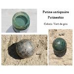patine antiquaire vert de gris