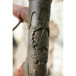 patine antiquaire bronze ancien sur métal